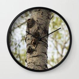 Alberta Bird Wall Clock
