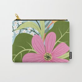 Blooming Colourful Composition Carry-All Pouch