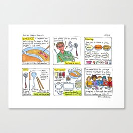 shabu shabu  Canvas Print