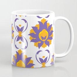 Islamic Illumination purple and orange palette Coffee Mug