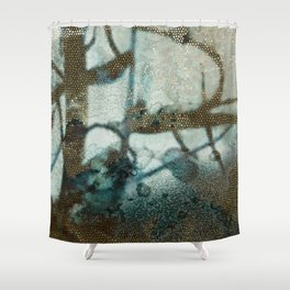 Fractions, close Shower Curtain