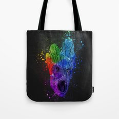 Guardians of the Galaxy Splash Painting Tote Bag