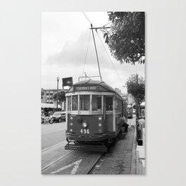 San Francisco Trolley Car 2007 Canvas Print