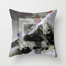 butterskies Throw Pillow