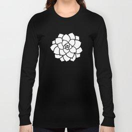 Simple Succulent Long Sleeve T-shirt