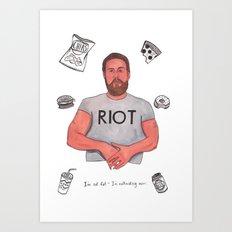 Fat Mac Art Print