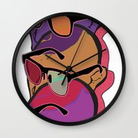 glasses Wall Clocks featuring GLASSES by Gianluca Floris