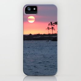 Kona Sunset iPhone Case