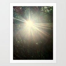 Keep me in the light Art Print