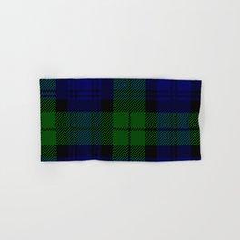 Scottish Campbell Tartan Pattern-Black Watch #2 Hand & Bath Towel