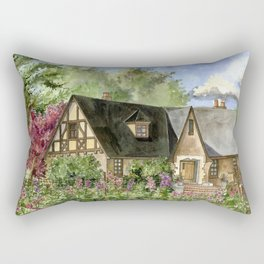 Tudor House on Kentucky Avenue Rectangular Pillow