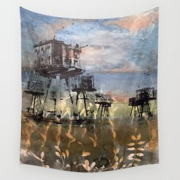 Maunsell Forts Wall Tapestry