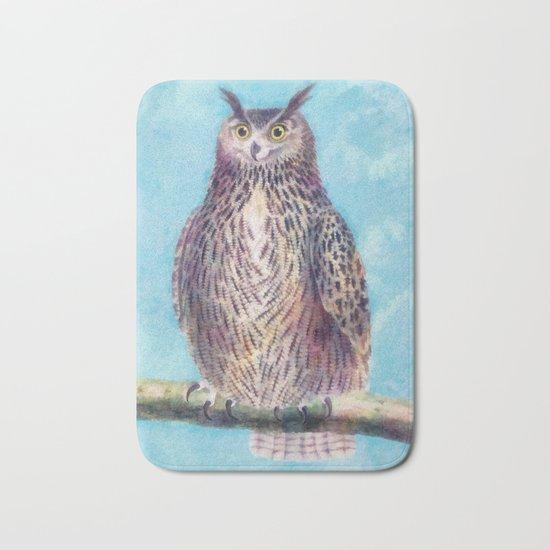 Mr. Owl Bath Mat