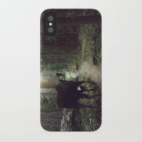 Trail Moose iPhone Case