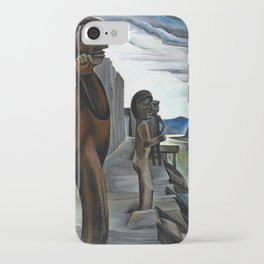Emily Carr - Blunden Harbour - Canada, Canadian Oil Painting - Group of Seven iPhone Case