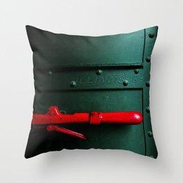 Fragments of Time: Iron Horse Series No. 021 Throw Pillow