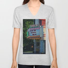 Maumee Movie Theater II Unisex V-Neck