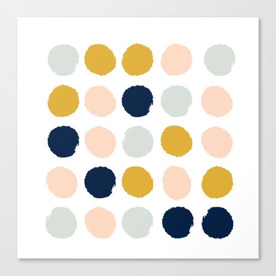 Dot minimal trendy color palette gold silver metallic for Art minimal color