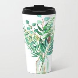 greenery in the jar Metal Travel Mug