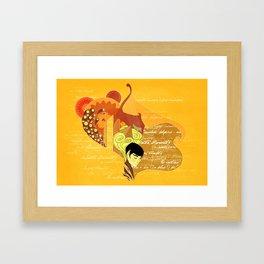 Vulcan Mind Framed Art Print