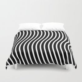 Bent Out Of Shape Duvet Cover
