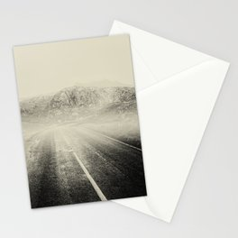 The Road and the Mountains II Stationery Cards