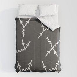 Feynman diagrams Comforters