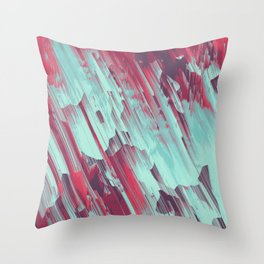 Cold From Above Throw Pillow