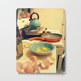 Sunday Morning Breakfast Metal Print