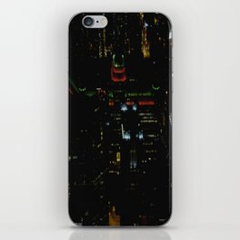 The Merchandise Mart in Red and Green (Chicago Christmas/Holiday Collection) iPhone Skin