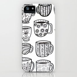 always a good time for a cuppa iPhone Case