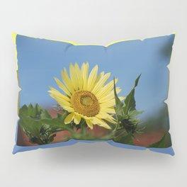 Sunflower Color Palette Pillow Sham