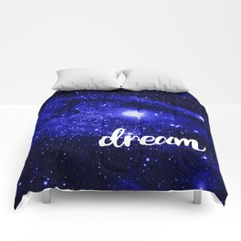 Blue Galaxy Dream Comforters