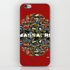 MASSACRE iPhone Skin