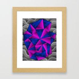 smell the colour 11 Framed Art Print