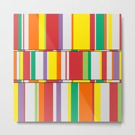 Color Stack Metal Print