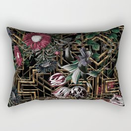 GATSBY and FLORAL pattern Rectangular Pillow