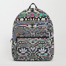 Bohemian colorful pattern, festyval style Backpack