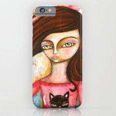 The Black Cat Princess Slim Case iPhone 6s