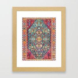 Oriental Heritage Moroccan Carpet Style Framed Art Print