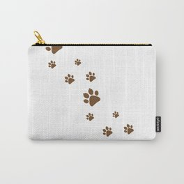 Dog Paws walk Carry-All Pouch
