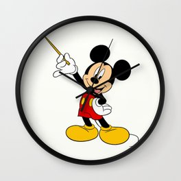 Mickey Mouse with the magic wand Wall Clock