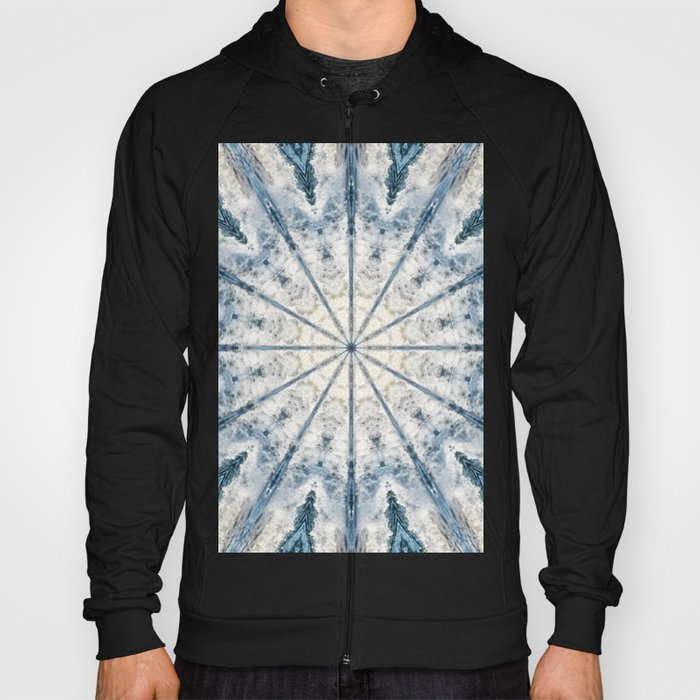 Beautiful abstract kaleidoscope of surf Hoody