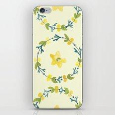 lemon lime iPhone Skin