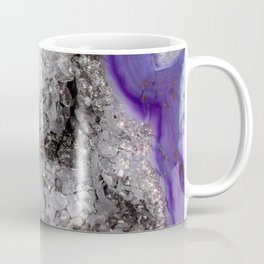 Agate druzy crystals close up Coffee Mug
