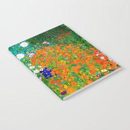 Gustav Klimt - Flower Garden Notebook