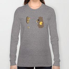 Bee game Long Sleeve T-shirt