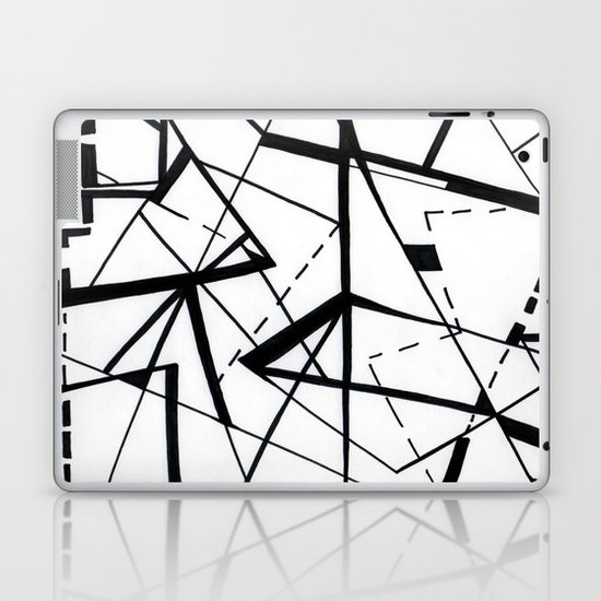 sharp Laptop & iPad Skin