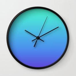 Hatsune Miku Gradient 02 Wall Clock