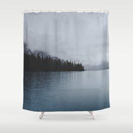 Landscape Lake Mirror Shower Curtain